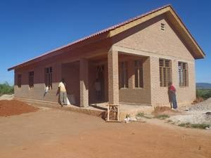 Haus 5 – im Rohbau fertig