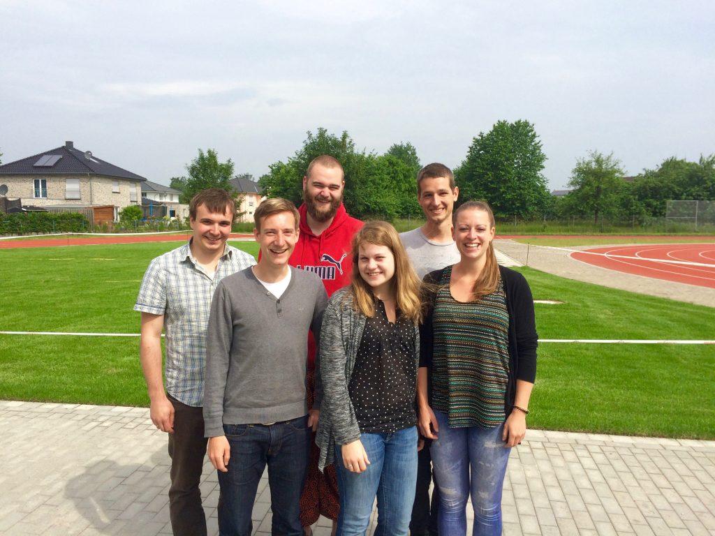 Das Teamer-Team, unterstützt von anderen Ehemaligen