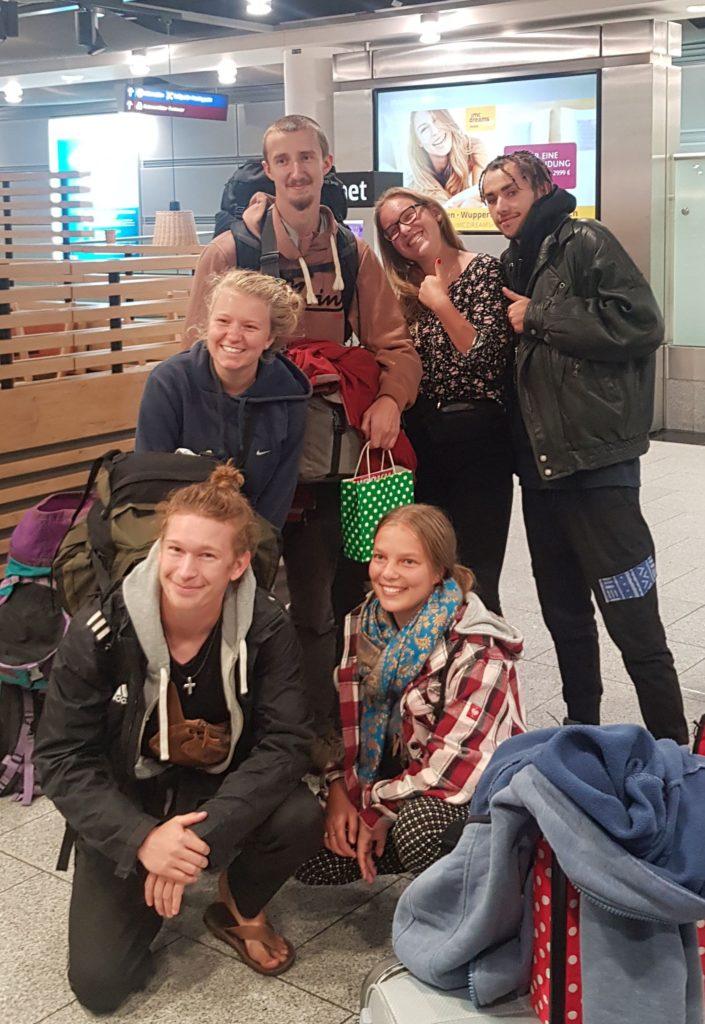 Alle wohlbehalten in Düsseldorf angekommen